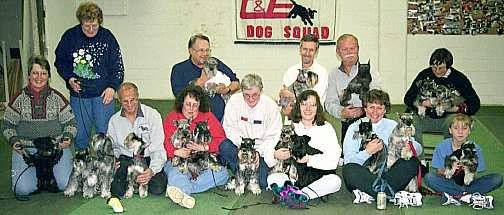 Club Members and Their Dogs